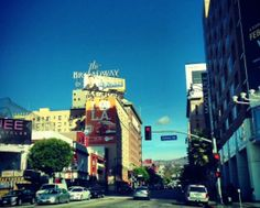 The legendary corner of Hollywood & Vine, in Los Angeles, near the W Hotel.  http://glitteratitours.com/