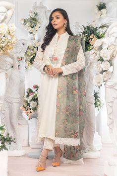 Designer Wear, Designer Dresses, Kurta Style, Summer Suits, Silk Pants, Chiffon Shirt, Bridesmaid Dresses, Wedding Dresses, Pakistani Dresses
