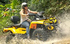 Carabalí Rainforest Adventure Park Río Grande Puerto Rico Horseback Riding Go-Kart Speed Track ATV Fourtrack Mountain Bike Canopy Zipline Corporate Restaurant Meetings Bar Grill Theme Park Hayride Rio Grande Puerto Rico, Costa Rica Adventures, El Yunque National Forest, Atv Riding, Quad Bike, Go Kart, Tandem, Horseback Riding, Mountain Biking