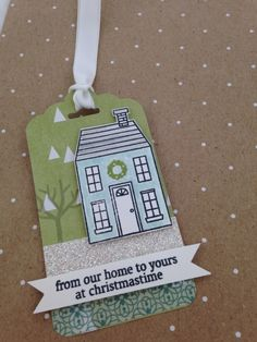 Holiday Home Green Tag