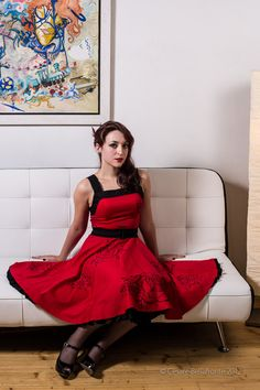 Red Roses Dress $100.00