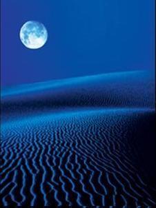 Blue désert ....
