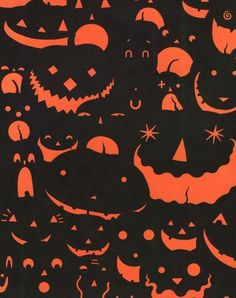 greg couch...hallowe'en Children's book. Love the simplicity of this graphic.