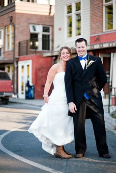 The new couple in beautiful downtown Friday Harbor! http://www.aweddingartgallery.com/