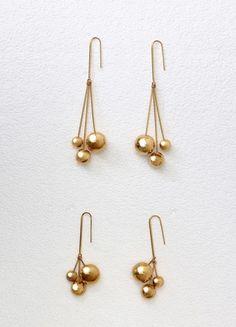 Dot Triple Earrings - Céline