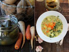 Zupa ogórkowa z ziemniakami bez mięsa – sprawdzony przepis Great Recipes, Cooking, Ethnic Recipes, Blog, Kitchen, Blogging, Brewing, Cuisine, Cook