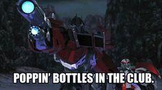 Pop dem bottles, OP!