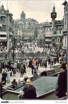 ✿ ❤ Bir zamanlar İSTANBUL, Karakoy - 1958