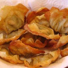 Recette Raviolis chinois frits aux crevettes et poulet par oupslala25 - recette de la catégorie Entrées