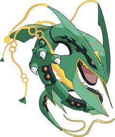 Mega Rayquaza Mega Pokemon, Pokemon Craft, Cute Pokemon, Pokemon Games, Rayquaza Pokemon, Mega Rayquaza, Pokemon Sleeves, Pokemon Showdown, Deviantart Pokemon