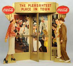 1937 Coca Cola Display