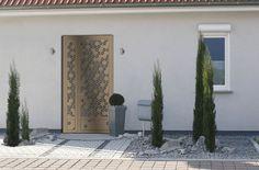 Porte 2/3, modèle Florale