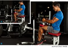 Sit Down To Grow: The 4-Minute Calf Workout - It's Not as Simple as Sitting - Bodybuilding.com