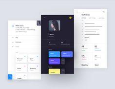 AI Powered To-do App by Jakub Antalik via/ Dribbble