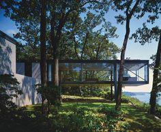 The Leonhardt House, Lloyd Neck, New York, Philip Johnson, 1956