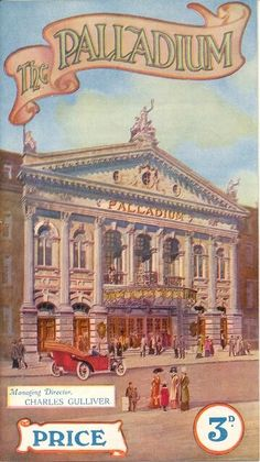 London Palladium theatre programme c.1912 from Roy Sambourne's collection