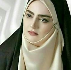 Hijab that keep women beauty Beautiful Muslim Women, Beautiful Hijab, Beautiful Eyes, Iranian Beauty, Muslim Beauty, Hijabi Girl, Girl Hijab, Muslim Women Fashion, Hijab Tutorial