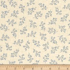 Blue Sky Windswept Mountain Top from @fabricdotcom  Designed by Edyta Sitar for Andover, this cotton print fabric features beautiful fallen branches and is perfect for quilting, apparel and home decor accents. Colors include cream and blue.