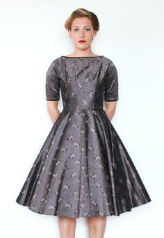 #vintage #1950s #party #dress