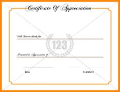 Certificate Of Appreciation Templates Free Download Free Service Certificate Templates Awarded To Best Recognition And .