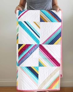 Yay! I'm so excited to show you what we have been working on over here! We have a total of 6 new patterns! 3 full sized quilts, 1 mini an...