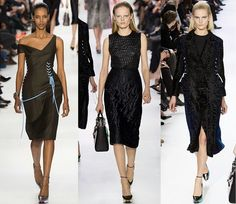 Fantasy Fashion Design: Christian Dior colección Otoño Invierno 2014-2015