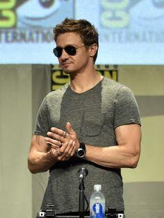 Jeremy Renner Photos  - Marvel Studios Panel - Comic-Con International 2014 - Zimbio