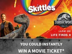 Mars Wrigley Summer 2018 Movie Sweepstakes