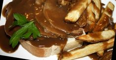 Hot Open-Face Beef Sandwich - Serve It With Fries And A Smile :) - Recipe Patch