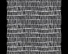 hochwertiger Art Gallery Baumwoll - Jersey  Serie: Lagom Design: Piled Ebon Farbe: schwarz / weiß   Zusammensetzung: 95% Baumwolle  5% Elasthan  Breite: 150cm Länge: 50cm