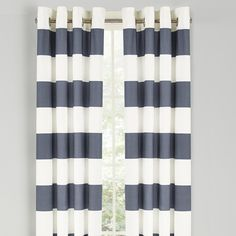 Stripe Grommet Curtain Panel by Nautica & Reviews | Joss & Main