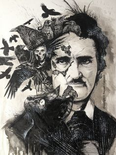 The Deconstruction of Poe by rayyzer