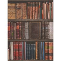 A Stylish Bookcase Themed Wallpaper Ideal For Feature Walls And Entire Rooms 10 05m 32 9