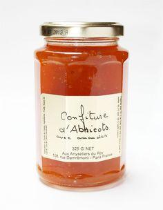 Confiture d'Abricots avec Amandes