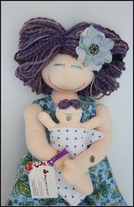 Image of VBAC Birthing and Breastfeeding MamAmor doll - SOLEDAD