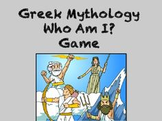 Challenge your students to identify Greek gods, goddesses, monsters, and other mythological legends. This activity contains twenty-five colorful Who Am I? riddles along with extra task cards for students to create riddles and graphics of their own. Use as a fun review game for my Greek Mythology Multiple Choice Test or as an independent station activity.