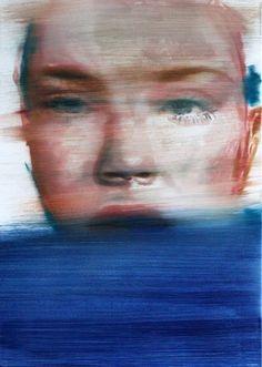 "Saatchi Art Artist János Huszti; Painting, ""She's another screamer"" #art"