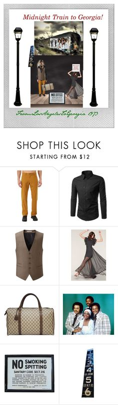 """""""1973"""" by sinmrn ❤ liked on Polyvore featuring Mountain Hardwear, Skopes, Milly, Gucci, Frontgate and Polaroid"""