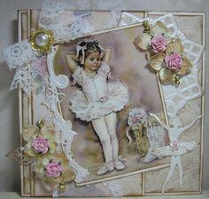 Marjan's scrapkaarten Vintage Scrapbook, Baby Scrapbook, Scrapbook Cards, 3d Cards, Paper Cards, Shabby Chic Cards, Beautiful Handmade Cards, Marianne Design, Cards For Friends