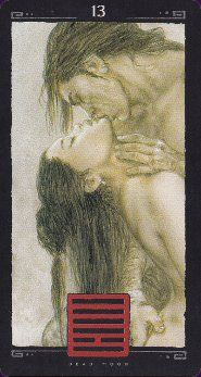 Luis Royo! IChing Dead Moon (it's his last deck that I have...)