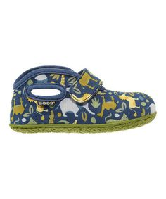 Another great find on #zulily! Navy Zoo Baby Bogs Bootie by Bogs #zulilyfinds