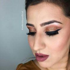 Perfect eye makeup for a perfect day! @m4makeup #listedbeauty #makeup #mua #eyes #lips #eyeshadow #contour #toronto #torontomakeup #torontomua #torontolife