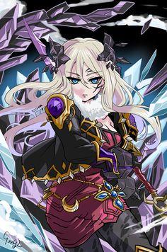 Brave Frontier: Cataclysm Empress Feeva by 9mg2 on DeviantArt