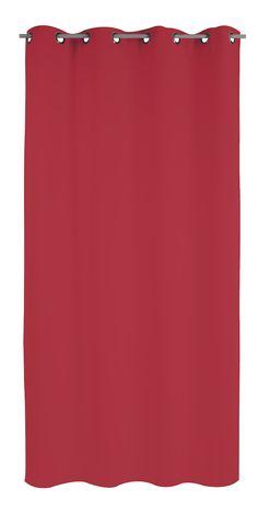 Rideau isolant thermique été FRESH (140x260) existe en écru, gris, taupe et rouge