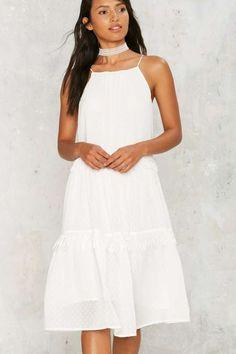 Top Tiered Fringe Dress