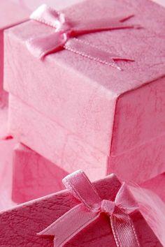 Pretty pink boxes  #pink #color #colours