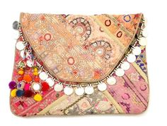 A little diy Clutch of scrap fabric from around the house...