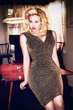 gia genevieve at DuckDuckGo Pin Up Dresses, Formal Dresses, Andrea Hot, Gia Genevieve, 40th Party Ideas, Rockabilly Outfits, Vintage Glam, Hot Outfits, Famous Women