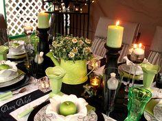Garden Green Tablescape