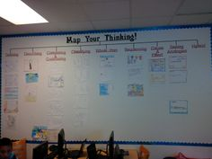 Love visiting with Patriot ES in Lee County Public Schools. Always great Thinking Maps samples on display.